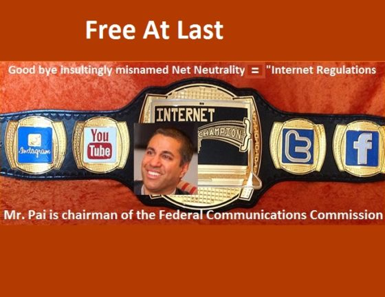 Internet Champion Ajit Pai