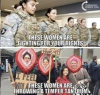 Women fighting for your riights